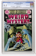 Bronze Age (1970-1979):Horror, Weird Mystery Tales #1 Don Rosa Collection pedigree (DC, 1972) CGCVF+ 8.5 Off-white to white pages....