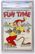 Golden Age (1938-1955):Funny Animal, Fun Time #4 (Ace, 1953) CGC FN/VF 7.0 Off-white pages....