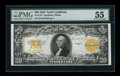 Large Size:Gold Certificates, Fr. 1187 $20 1922 Gold Certificate PMG About Uncirculated 55....