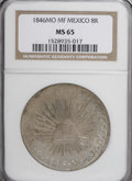 Mexico, Mexico: Republic Cap and Rays 8 Reales 1846Mo-MF,...