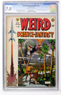 Golden Age (1938-1955):Science Fiction, Weird Science-Fantasy #25 (EC, 1954) CGC FN/VF 7.0 Off-white towhite pages....