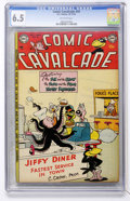Golden Age (1938-1955):Funny Animal, Comic Cavalcade #59 (DC, 1953) CGC FN+ 6.5 Off-white pages....