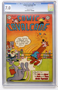 Golden Age (1938-1955):Funny Animal, Comic Cavalcade #56 (DC, 1953) CGC FN/VF 7.0 Off-white to whitepages....
