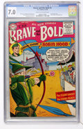 Golden Age (1938-1955):Miscellaneous, The Brave and the Bold #5 Robin Hood (DC, 1956) CGC FN/VF 7.0 Cream to off-white pages....