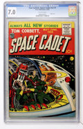 Golden Age (1938-1955):Science Fiction, Tom Corbett, Space Cadet V2#1 (Prize, 1955) CGC FN/VF 7.0 Off-whitepages....
