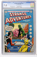 Golden Age (1938-1955):Science Fiction, Strange Adventures #41 (DC, 1954) CGC FN/VF 7.0 Cream to off-whitepages....