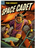 Golden Age (1938-1955):Science Fiction, Tom Corbett Space Cadet #8 (File Copy Dell, 1953) Condition: VF....