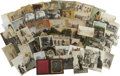 Western Expansion:Indian Artifacts, 13 Stereoviews Indians, 30 Postcards of Indians and oneDaguerreotype ca 1860-1920. ... (Total: 44 Items)