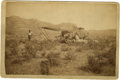 Photography:Cabinet Photos, Cabinet Card Photograph O. S. Goff, Chuck Wagon on the Plains ca1880s. ...