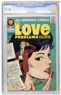 Silver Age (1956-1969):Romance, True Love Problems and Advice Illustrated #44 File Copy (Harvey,1957) CGC NM 9.4 Cream to off-white pages....