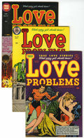 Golden Age (1938-1955):Romance, True Love Problems and Advice Illustrated File Copy Group (Harvey, 1953-57) Condition: Average VF+.... (Total: 7 Comic Books)