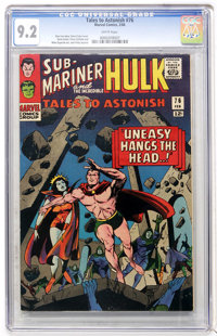 Tales to Astonish #76 (Marvel, 1966) CGC NM- 9.2 White pages