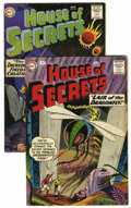 Silver Age (1956-1969):Mystery, House of Secrets #19 and 20 Group (DC, 1959).... (Total: 2 ComicBooks)