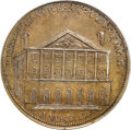 Colonials, (1797) PENNY New York Theatre Penny Token PR64 Brown PCGS....