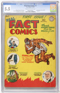 Golden Age (1938-1955):Non-Fiction, Real Fact Comics #1 (DC, 1946) CGC FN- 5.5 Cream to off-whitepages....