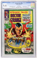 Silver Age (1956-1969):Horror, Strange Tales #156 White Mountain pedigree (Marvel, 1967) CGC NM9.4 White pages....