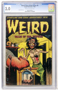 Golden Age (1938-1955):Horror, Weird Tales of the Future #8 (Aragon, 1953) CGC GD/VG 3.0 Cream tooff-white pages....
