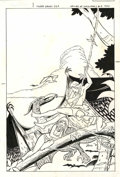 Original Comic Art:Covers, Fred Himes - Valley of the Dinosaurs #2 Cover Original Art(Charlton, 1975)....