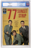 Silver Age (1956-1969):Adventure, 77 Sunset Strip #01-742-209 (Dell, 1962) CGC NM 9.4 Off-white pages....