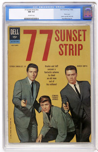 77 Sunset Strip #01-742-209 (Dell, 1962) CGC NM 9.4 Off-white pages