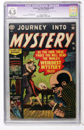 Golden Age (1938-1955):Horror, Journey Into Mystery #4 (Marvel, 1952) CGC Apparent VG+ 4.5 Slight(A) Cream to off-white pages....
