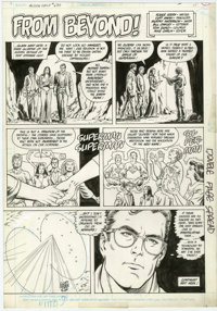 Curt Swan and Murphy Anderson - Action Comics Weekly #630, page 25 Original Art (DC, 1988)