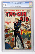 Golden Age (1938-1955):Western, Two-Gun Kid #36 (Marvel, 1957) CGC VF/NM 9.0 White pages....