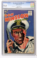 Golden Age (1938-1955):War, Don Winslow of the Navy #71 (Charlton, 1955) CGC VF/NM 9.0 Cream tooff-white pages....