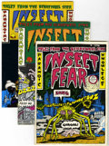 Bronze Age (1970-1979):Alternative/Underground, Insect Fear #1-3 Group (Print Mint, 1970-73) Condition: Average VG/FN.... (Total: 3 Comic Books)