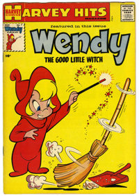 Harvey Hits #7 Wendy the Good Little Witch - File Copy (Harvey, 1958) Condition: VG/FN