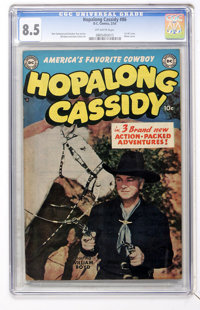 Hopalong Cassidy #86 (DC, 1954) CGC VF+ 8.5 Off-white pages