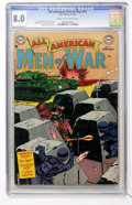 Golden Age (1938-1955):War, All-American Men of War #11 (DC, 1954) CGC VF 8.0 Cream tooff-white pages....