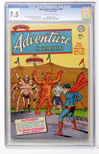 Adventure Comics #198 (DC, 1954) CGC VF- 7.5 Off-white to white pages