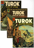 Silver Age (1956-1969):Adventure, Turok, Son of Stone Group (Gold Key, 1954-72) Condition: Average VG/FN.... (Total: 11 Comic Books)