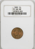 Proof Indian Cents: , 1882 1C PR66 Red and Brown NGC. NGC Census: (18/6). PCGS Population (20/2). Mintage: 3,100. Numismedia Wsl. Price for NGC/P...