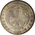 Colombia: , Colombia: Republica de Colombia 8 Reales 1835-RS Bogota, KM89,deeply toned AU with abundant underlying mint luster. Very scarcedate ...
