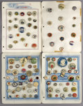 Political:Pinback Buttons (1896-present), Large Lot of Over 340 Celluloid Buttons, 1930s & 1940s.... (Total: 340 Items)