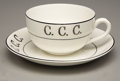 Political:Advertising, Civilian Conservation Corps: Cup and Saucer... (Total: 2 Items)