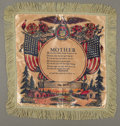 Political:Advertising, Civilian Conservation Corps: Pillow Cover...
