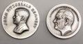 Political:Tokens & Medals, Kennedy & Johnson Inaugural Medals... (Total: 2 Items)