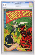 Golden Age (1938-1955):Western, Ghost Rider #12 (Magazine Enterprises, 1953) CGC VF- 7.5 Off-white pages....