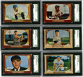 Baseball Cards:Sets, 1955 Bowman Baseball Complete Set (320). Offered is a middle grade 1955 Bowman Baseball complete set of 320 cards. This is a...
