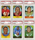 Football Cards:Sets, 1967 Topps Football Near Set (129/132). Offered is a 1967 Topps Football near set of 129/132 cards (missing #'s 10, 42 and 1...