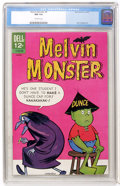 Silver Age (1956-1969):Humor, Melvin Monster #9 (Dell, 1967) CGC NM 9.4 Off-white pages....