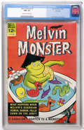Silver Age (1956-1969):Humor, Melvin Monster #2 File Copy (Dell, 1965) CGC NM- 9.2 Off-white to white pages....
