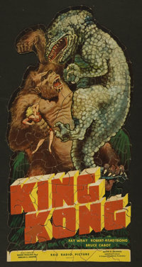 King Kong (RKO, 1933). Jigsaw Puzzle (over 150 pieces) Miscellaneous. Horror.... (Total: 2 Items)