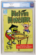 Silver Age (1956-1969):Humor, Melvin Monster #1 (Dell, 1965) CGC NM+ 9.6 Off-white pages....
