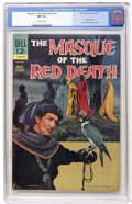 Silver Age (1956-1969):Horror, Movie Classics The Masque of the Red Death (Dell, 1964) CGC NM 9.4Off-white pages....