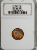 Proof Indian Cents, 1907 1C PR66 Red NGC....