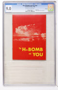 Golden Age (1938-1955):Miscellaneous, The H-Bomb and You #nn File Copy (Commercial Comics, 1955) CGC VF/NM 9.0 Off-white to white pages....